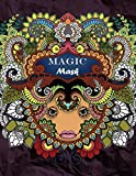 Magic Mask: Adult coloring book