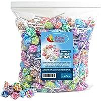 A Great Surprise DUM DUMS chupetines - dulces a granel - 2 LB (aprox. 120 piezas) de variado sabor aparece