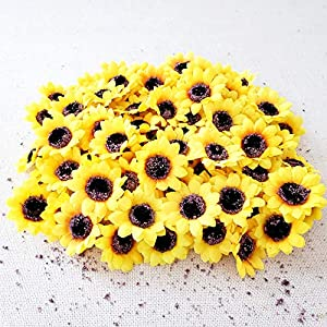 TRvancat Girasoles Artificiales, 2 Unidades, A