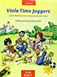 Viola Time Joggers + CD: A first book...