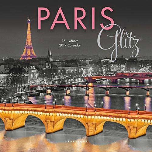 Paris Glitz 2019 Mini Wall Calendar