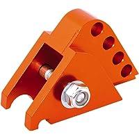 VESPA ET2 LX 50 2EXTREME Set di rialzo CNC 2 fori arancione per PIAGGIO ZIP LXV 50