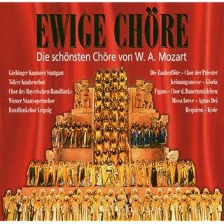 Ewige Chöre Mozart