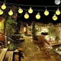 30er LED Weihnachtsdekoration Globe Kugel Beleuchtung für Terrasse