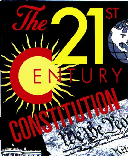 The 21st Century Constitution (English Edition) por Barry Krusch