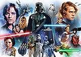 Tapetokids Fototapete - Star Wars - Vlies 254 x 184 cm (Breite x Höhe) - Wandbild Star Wars