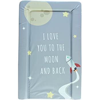 Love You To The Moon Baby Changing Mat