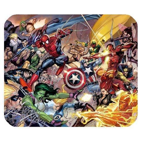 Alfombrilla ratón rectangular diseño Marvel The