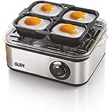 Glen Egg Boiler 3036 500 watt with 3 Water Levels- Silver