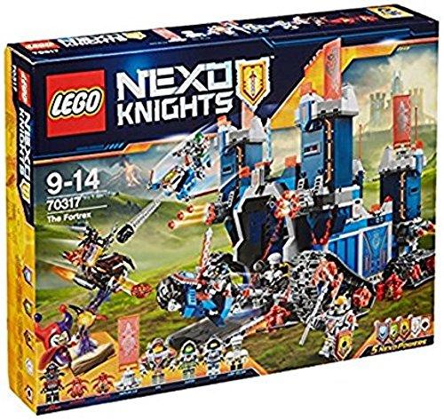 LEGO Nexo Knights Fortrex 70317 - Die rollende Festung, Kinderspielzeug (Lego Burgen)
