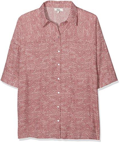 Zizzi O10562A-Blusa para Mujer Color Rosa (Nostalgia Rose Comb 1371) Talla 48