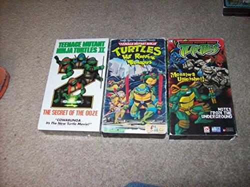Teenage Mutant Ninja Turtles II: The Secret of the Ooze [VHS]