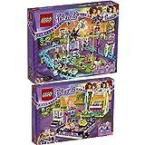 Lego Friends Freizeitpark 2er Set 41130 41133 Großer Freitzeitpark + Autoscooter - sofort lieferbar!
