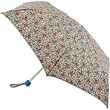 Cath Kidston Minilite paraguas plegable–ardillas crema