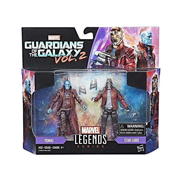 "Marvel Legends Guardianes de la Galaxia 3,75 ""Star Lord & Yondu Figura de acción 2 Unidades 2"