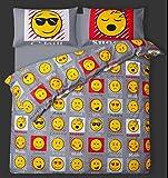 Slimey Emoji Emossion Parure de lit Double