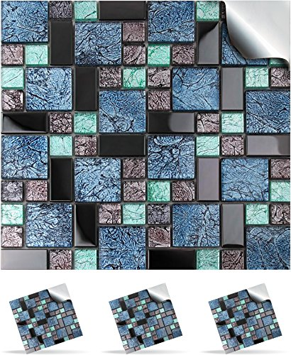 30-wall-tile-stickers-for-150mm-6-inch-square-tiles-30-mosaic-glass-tp-71-realistic-looking-stick-on