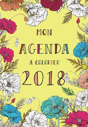 Agenda  colorier 2018