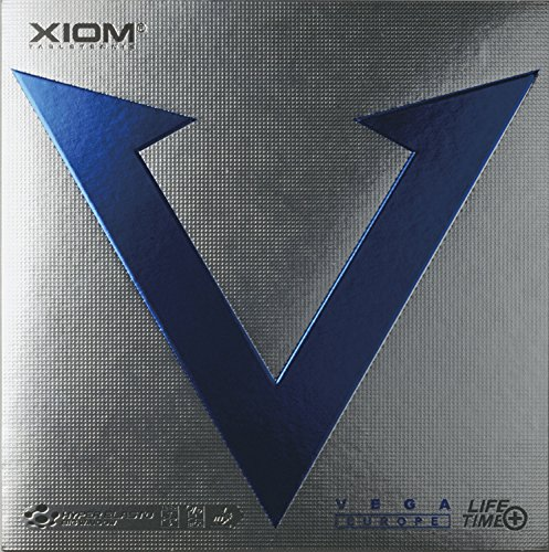 Tischtennis-Belag Xiom Vega Europe, neu, max (schwarz)