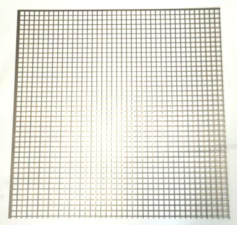 Niro Lochblech Quadratlochung 10/1 mm