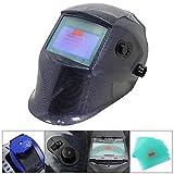 Melko® Automatik Schweißhelm/Schweißmaske / Schweißschild, 1/20.000 Sekunden, Sichtfeld: 98 x 55 mm