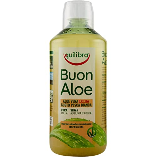 Equilibra Succo di Buonaloe Aloe Vera Extra, 1 l