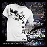 Angler T-Shirt Zander, Spinnfischer T-Shirt