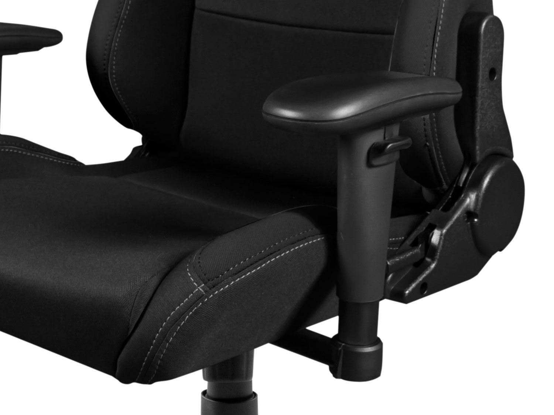 Drift DR100B – Silla Gaming Profesional, (Tela Alta Calidad, Ergonómica), Color Negro