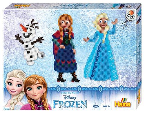 Hama - 7947 - Midi boîte MM - Cadeau - Reine des neiges
