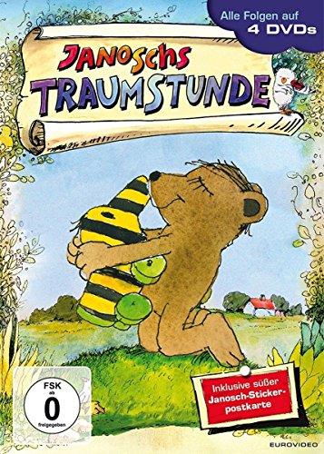 Janoschs Traumstunde - 4 DVDs im Schuber inkl. Janosch-Stickerpostkarte Preisvergleich
