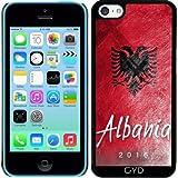 Funda para Iphone 5c - Bandera De Albania - Best Reviews Guide
