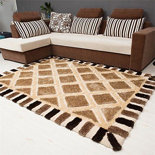 Q Moderner minimalistischer rechteckiger Teppich/Bereich Teppiche/Matte für Wohnzimmer Couchtisch Schlafzimmer (größe : 120*170cm)