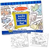 Melissa & Doug Jumbo Colouring Pad - Blue