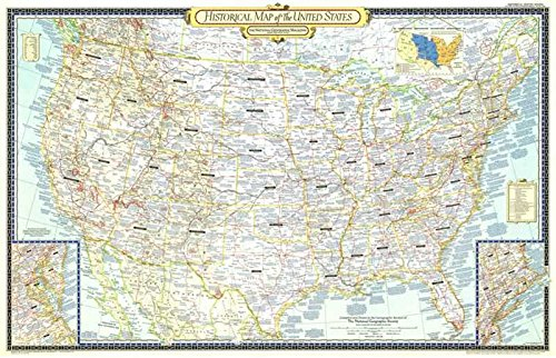 Reproduktion eines Poster Präsentation-USA-eine Historische Karte (1953)-61x 81,3cm Poster Prints Online kaufen