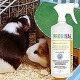 Bio-Reiniger und Geruchsneutralisierer Spray Probisa Micro-Vet 813 für Hund, Katze, Nager und Haustiere in Wohnung, Käfig und Stall (Komplettset – 0,5 Liter Konzentrat ergeben 25 Liter gebrauchsfertigen Geruchskiller) - 7