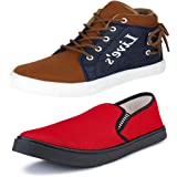 Earton Men Comfortable & Stylish Canvas Loafers & Moccasins