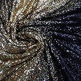 130 cm breiter Farbverlauf Pailletten Stoff DIY glitzernder