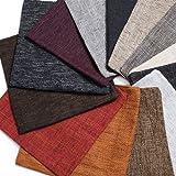 Kissen-Hülle Dekokissen Zier-Kissen Kissenbezug Textil-Stoff Magma Chenille grob Struktur Polster-Stoff Möbel-Bezugsstoff premium eckig 60 cm x 60 cm Cappucino