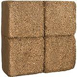 70 L Kokosblumenerde Quellerde – 5 kg Kokos Brikett - 3