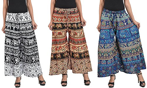 Chanchal Fashion's Latest & Stylish Casual Wear Cotton Printed Plazzo Pants For...