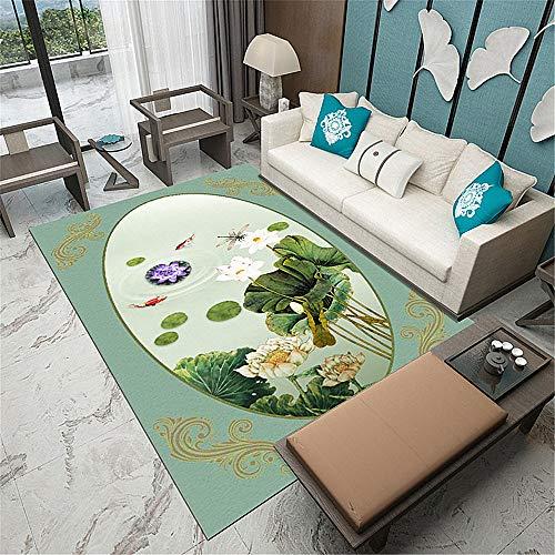 Tappeto a palla piccola-tappeti camera da letto cinese moderna casa soggiorno tavolino etnica stuoieeoliche 80x120cm