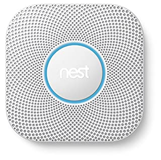 Nest Protect 2ème génération, détecteur de fumée et monoxyde de carbone, (à Piles) (B00YA286Z0) | Amazon price tracker / tracking, Amazon price history charts, Amazon price watches, Amazon price drop alerts