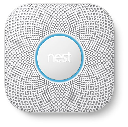 Foto Nest Protect 2 Carbon monoxide detector Interconnectable Wireless - smoke detectors (Battery, AA, 38.5 mm, 135 mm, 135 mm, 379 g)