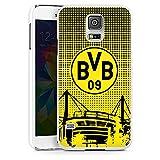 DeinDesign Samsung Galaxy S5 Hülle Case Handyhülle BVB Muster Borussia Dortmund