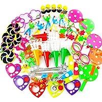 Amy&Benton Surtido de 80 juguetes para rellenar piñatas y bolsas de regalo de fiestas de cumpleaños infantiles o para el colegio