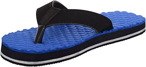 Ortho + Rest Blue Slippers for Women