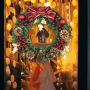 Kapmore Corona de Navidad Guirnalda