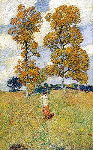 odsanart-12-x-19-cm-motivo-tthe-impressionism-altri-due-alberi-in-noce-americano-anche-noto-come-da-