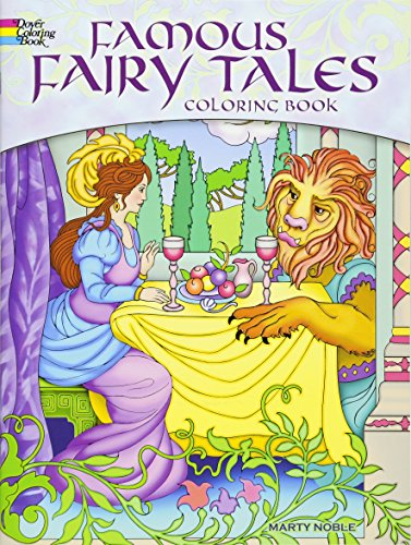 Famous Fairy Tales Coloring Book (Dover Coloring Books)