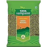Tata Sampann Green Moong, Whole, 500g